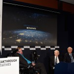 Yuri Milner And Stephen Hawking Host Press Conference On The Breakthrough Life In The Universe Initiatives