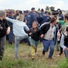 HUNGARY-MIGRANTS-MEDIA