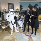 barack si michelle star wars