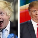 Boris Johnson, viitorul premier al UK, si Donald Trump